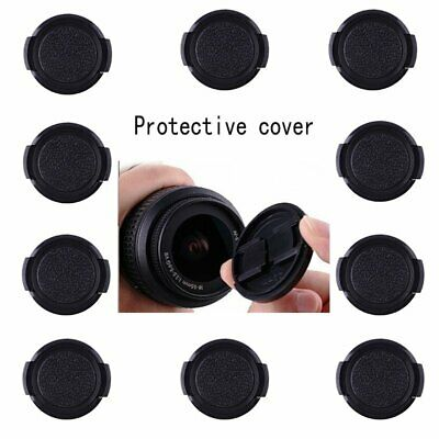 AU10.42 • Buy 10pcs 77mm Plastic Snap On Front Lens Cap Cover For SLR DSLR Camera Leical Sony