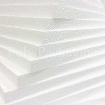 £9.30 • Buy POLYSTYRENE FOAM EPS SHEETS *Any Size/Qty* Expanded Packing Insulation Poly Foam