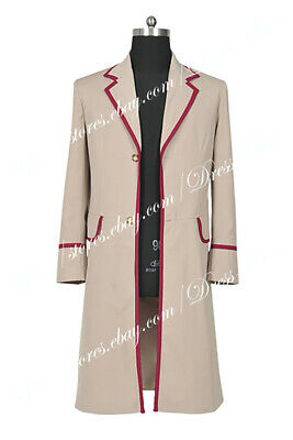 £66.49 • Buy Doctor Who The Fifth Dr Peter Davison Cosplay Costume Trench Coat Halloween