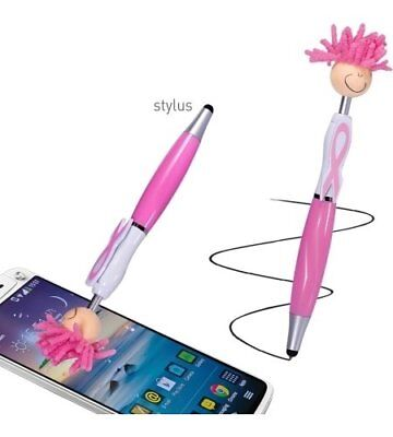 $6.99 • Buy 2 Pc Pen 3 In 1 Microfiber Duster, Stylus Techie Tori Pink Breast Cancer Ribbon