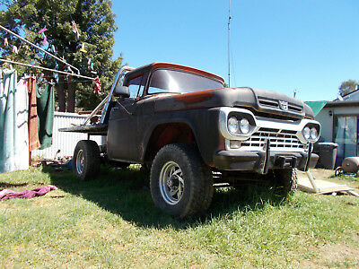 AU15000 • Buy Ford F100 4x4 Hot Rod Rat Rod Chev Holden Patrol