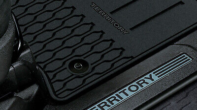 AU124.95 • Buy Genuine Ford SZ Territory Rubber Floor Mats Set Of 4 Front & Rear 2011-Current