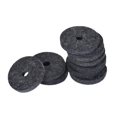 $ CDN2.25 • Buy 10 X Black Strap Button Felt Washer For Guitars And Basses