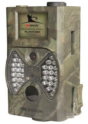 £49.99 • Buy BRAUN Camoflauge Waterproof Outdoor Mini Video Camera With Built-in LED's 12 MP