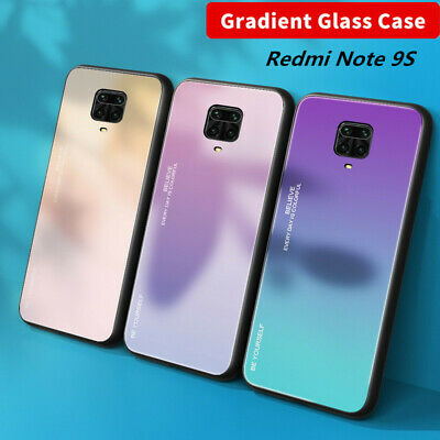 $3.79 • Buy For Xiaomi Redmi Note 9S 8T 7 Shockproof Gradient Tempered Glass Hard Case Cover