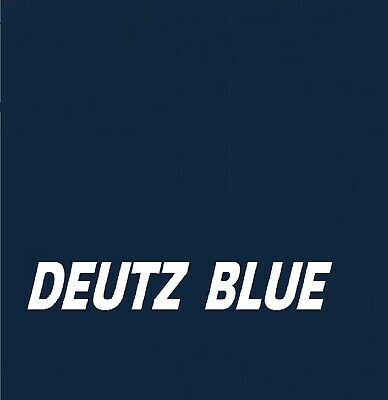 £21.95 • Buy DEUTZ FAHR BLUE Machinery Tractor & Agricultural Industrial Enamel Gloss Paint