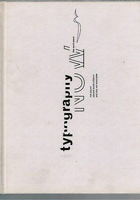 Typography Now: The Next Wave By Rick Poyner & Edward Booth-Clibborn (Hardback) • 27.21£