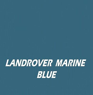 £21.95 • Buy LANDROVER MARINE BLUE RAL5228 Agricultural Tractor Machinery Enamel Gloss Paint