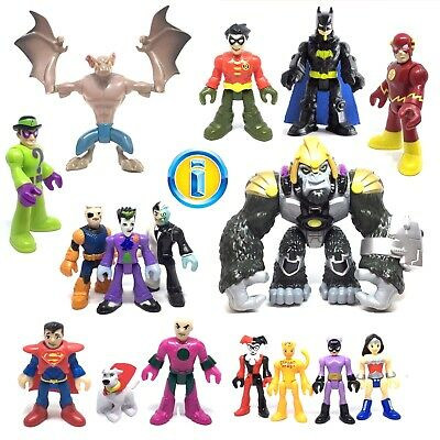 IMAGINEXT DC Super Friends Heroes & Villains Used Figures. Loose *Please Select* • 7.49£