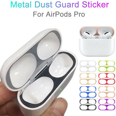 $ CDN1.19 • Buy Metal Film Sticker Dust Guard Shavings Protective Cover For AirPods Pro Airpod 3
