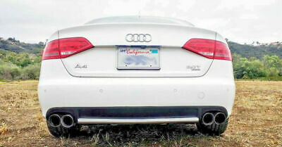 $ CDN218.06 • Buy 2008-2016 FOR Audi A4 S4 TIPS STAINLESS DUAL EXHAUST 4.0 2.5 B8 B9 QUAD PAIR