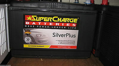 AU168 • Buy Super Charge N70zzh / N70zzl Silver Plus Heavy Duty Landcruiser Starting Battery