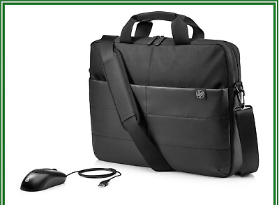 AU30 • Buy HP 1FK06AA 13.3  14  15.6  Classic Briefcase Carry Laptop Bag And Optical Mouse