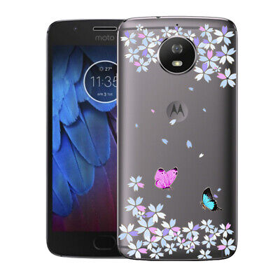 AU4.45 • Buy Soft TPU Case Cover For Motorola Moto E4 E5 G4 G5 Plus Clear Silicone Back Skins