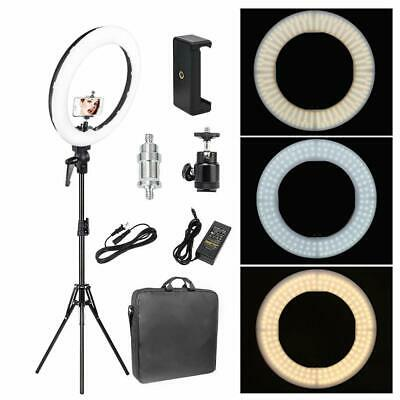 AU74.99 • Buy ZOMEI 14  LED Ring Light With Stand Dimmable Makeup Light Photography Kit