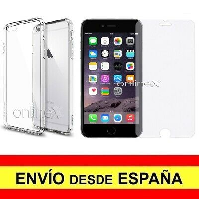 Funda Iphone 6 Plus Transparente Dura ▷ 1.0€ DealSan