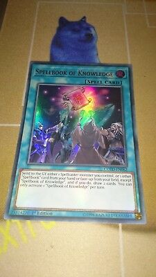 AU9.90 • Buy Spellbook Of Knowledge COTD EN062 Ultra Rare 1st Edition Yugioh