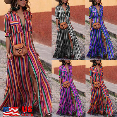 d125361b209ea Custom Tie Dye Lularoe Carly Dress S Small Rainbow Spiral   one Of A Kind  .  45.00  View Details. Women Rainbow Stripe Boho Long Button Shirt Dress  Ladies ...