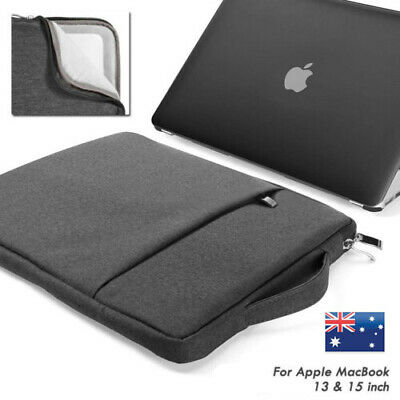 AU16.99 • Buy  Laptop Slim Sleeve Bag Case Handle Cover For Apple Macbook Air Pro 13 15'' Gray