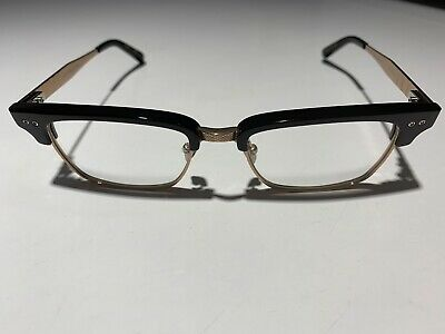 9c8a3285732 Dita Statesman Three DRX-2064 F Black Rose Gold Plastic Eyeglasses 52mm •  625.00