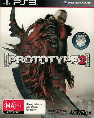 AU14.95 • Buy Prototype 2 Radnet Limited Edition, Playstation 3 Game, USED