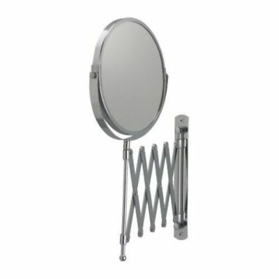 AU26.50 • Buy IKEA 2 Sided Extending Makeup Mirror Stainless Steel Magnifying Makeup