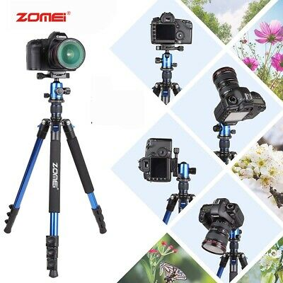 AU68.07 • Buy Zomei Q666 Portable Camera DSLR Aluminium Tripod Monopod Ball Head Canon Nikon