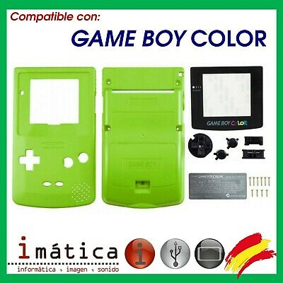 Able It Faceplates, Decals & Stickers Phonecaseonline Carcasa Gameboy Color Pikachu Green New