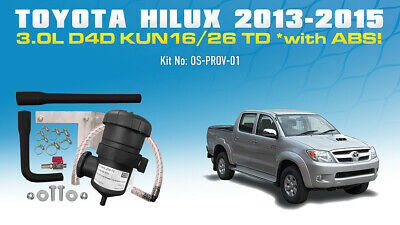AU330 • Buy Mann ProVent Oil Catch Can Kit For Toyota Hilux N70 2008-15 3L KUN16/26 With ABS