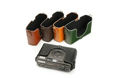 $ CDN54.90 • Buy Genuine Real Leather Half Camera Case Bag Cover For Contax T3 Film Camera