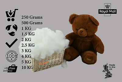 £8.12 • Buy Hollowfibre Virgin Polyester Filling Soft Stuffing Toy Teddy Bear Cushion Pillow