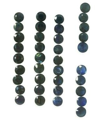 1pc Round 5.5mm Ceylon Blue Sapphire Royal Blue Unheated Top Quality 0.80 Cts • 55$