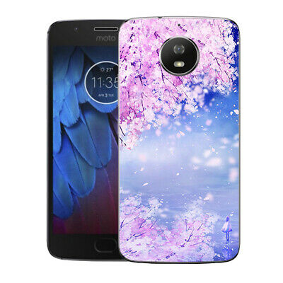 AU4.45 • Buy Soft TPU Case Cover For Motorola Moto E4 E5 G4 G5 Plus Flower Silicone Back Skin