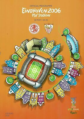 £4.99 • Buy 2006 UEFA Cup Final Middlesbrough V Sevilla 10th May 2006 Official Programme