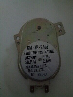 Microwave Synchronous  Motor GM-7B-240F 2.5W 5RPM • 13£