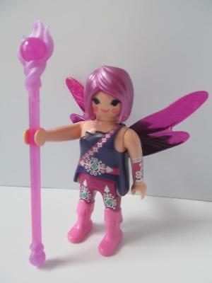 Playmobil Magic/fairytale/palace Figure: Purple Fairy With Staff NEW • 4.79£