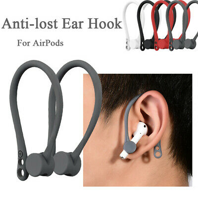 $ CDN5.17 • Buy For Apple AirPods Silicone Wireless Earphone Accessories Protector Earhooks New*