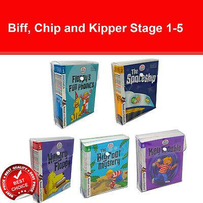 £29.78 • Buy Biff, Chip And Kipper Stage 1 2 3 4 5 Read With Oxford: 3+ Books Collection Set