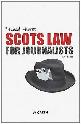 £44.84 • Buy Scots Law For Journalists