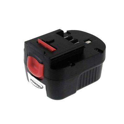 Battery For Black & Decker Type Slide Pack FIRESTORM A12 2000mAh 12V 2000mAh/24W • 38.80£