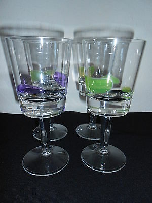$13.99 • Buy SET OF 4 EXTRA HEAVY TALL 12 OZ Plastic GLASSES  Polycarbonate Durable NICE!