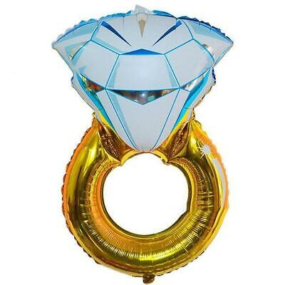 AU11.99 • Buy 32  Jumbo Engagement Diamond Ring Shaped Foil Balloon