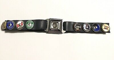 Little Earth Belt Beer Bottle Cap Car Seat Latch Buckle Small Unisex Preowned • 10.75$