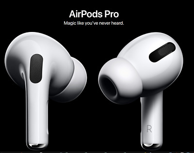 $ CDN443.89 • Buy Apple AirPods PRO Noise Cancelling White Wireless Earbuds 2019 NEW FAST SHIP