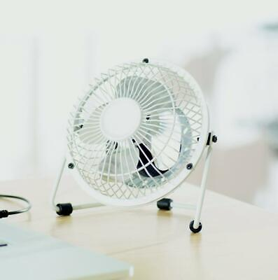Mini USB Desk Fan Small Quiet Personal Cooler USB Powered Portable Table Fan • 6.98£