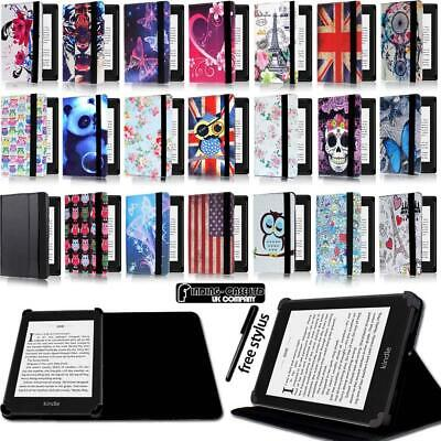 Folio Stand Leather Cover Case For Amazon Kindle 4/5/7/8/9 Paperwhite 1/2/3/4 • 4.99£