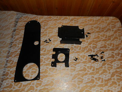 Necchi Lydia3 Type 544 Sewing Machine Back Black Plastic Cover Bobbin Cover Plus • 8$