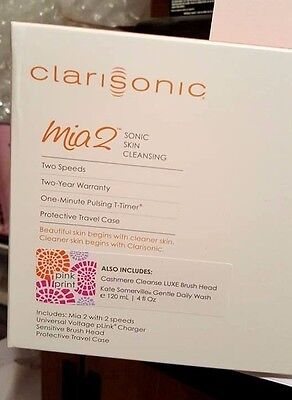 AU456.02 • Buy Clarisonic Mia 2 Sonic Cleansing System W/ Kate Somerville Gentle Daily Cleanser