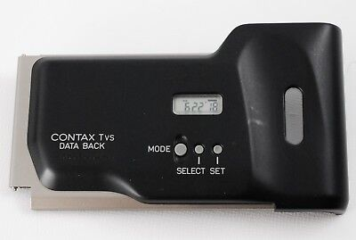 $ CDN124.97 • Buy [ TOP MINT ] Contax TVS Data Back Cover For TVS TVSii From Japan #0190