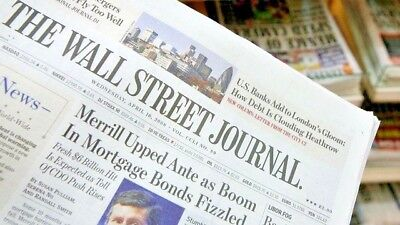 $395 • Buy Wall Street Journal Subscription Print - 1 Year WSJ Print (Paper)